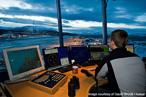 The first ATC at the airport was built in 1946.