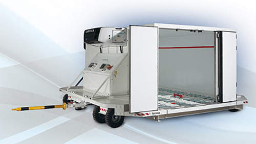 Our cooling dollies offer top-quality refrigeration transport and a flexible cold storage facility. & 2 - Airport Technology