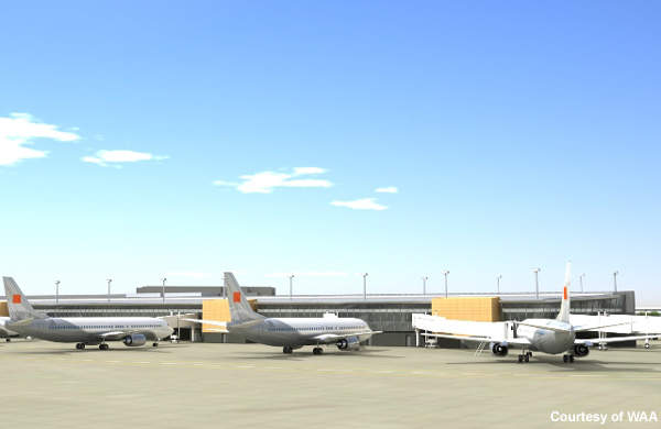 New cargo capacity was also planned as part of the Wichita master plan, formulated in 1998.