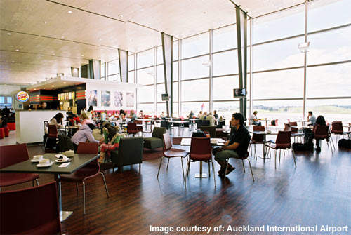 The international terminal at Auckland Airport is expanding again.
