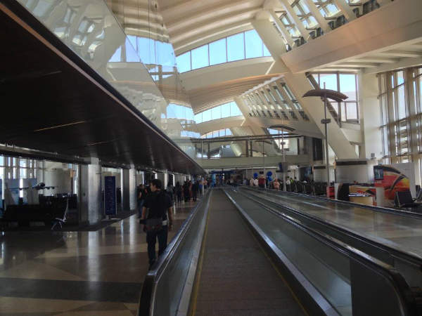 The renovation of Tom Bradley international terminal at LAX was completed in 2010.