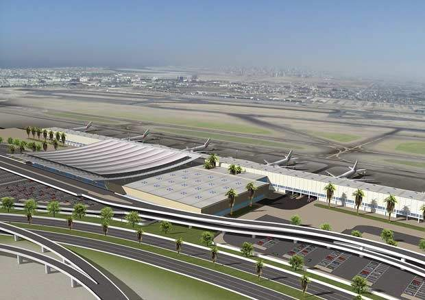 By 2007, Dubai International Airport will have the ability to cater for nearly 60 million passengers a year; its present capacity is 22 million.
