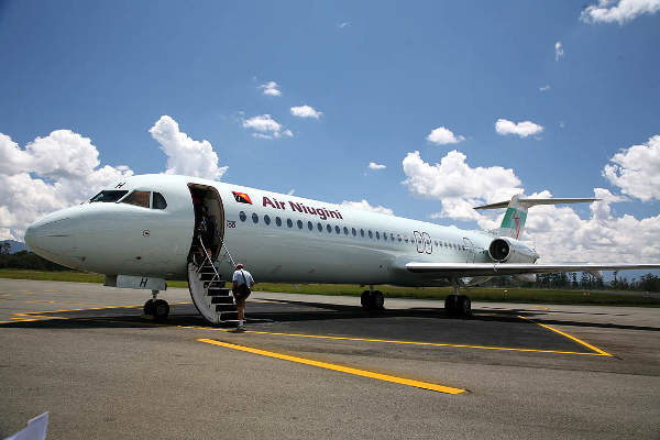 Port Moresby Jacksons International Airport  is a hub for airlines such as Air Niugini and PNG.