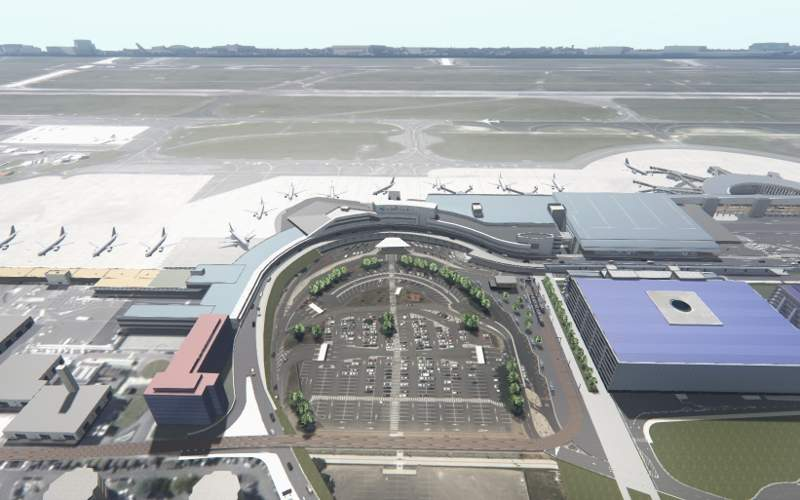 The terminal building at Toulouse-Blagnac Airport will be expanded to cater to the increasing passenger traffic. Image courtesy of Aéroport Toulouse-Blagnac.
