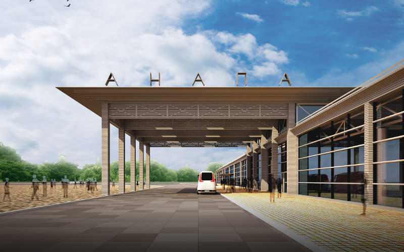 The new terminal will be used for domestic operations. Image courtesy of Basic Element.