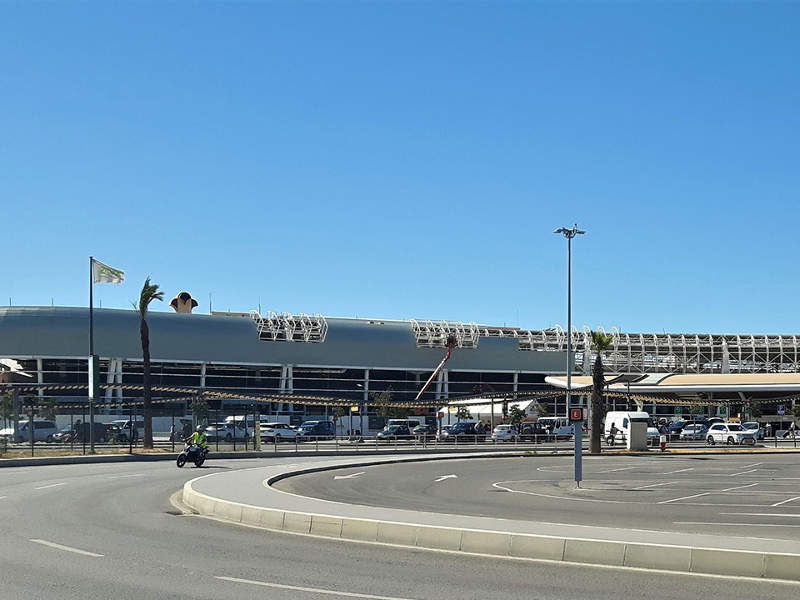 Faro international airport is operated by Portuguese airport authority, ANA Aeroportos de Portugal. Image courtesy of TRIA.