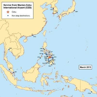 Mactan-Cebu Airport handled approximately 10 million passengers in 2017. Credit: Kmusser.