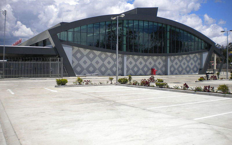 The new terminal's design is inspired by a local artefact. Image courtesy of Asian Development Bank (ADB).