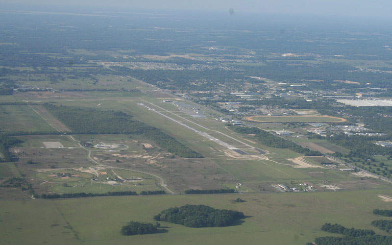 Ocala airport is located on a 1,532-acre site. Image courtesy of Mark Pasqualino.