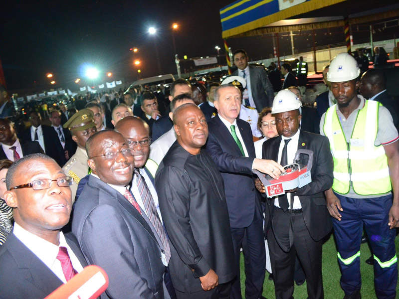 The groundbreaking ceremony for the construction of a new Terminal 3 at KIA took place in March 2016. Credit: Ghana Airports Company Limited (GACL).