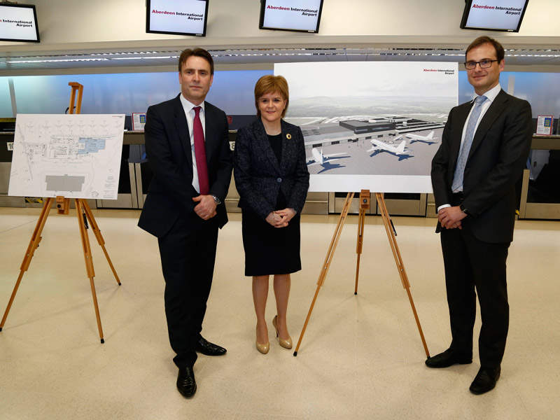 The first minister of Scotland unveiled the transformation project details in February 2016. Image: courtesy of The Scottish Government.