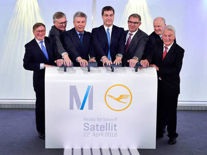 The new satellite terminal became operational in April 2016. Image courtesy of The Lufthansa Group.