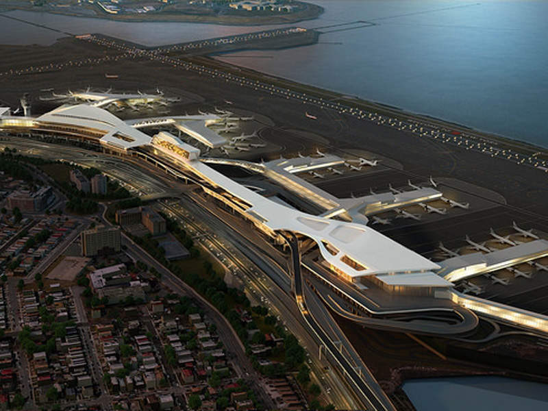 The new terminal will have 35 gates. Image: courtesy of State of New York.