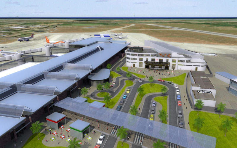 The development plans primarily focus on improving the safety at the airport. Image courtesy of Ports of Jersey.