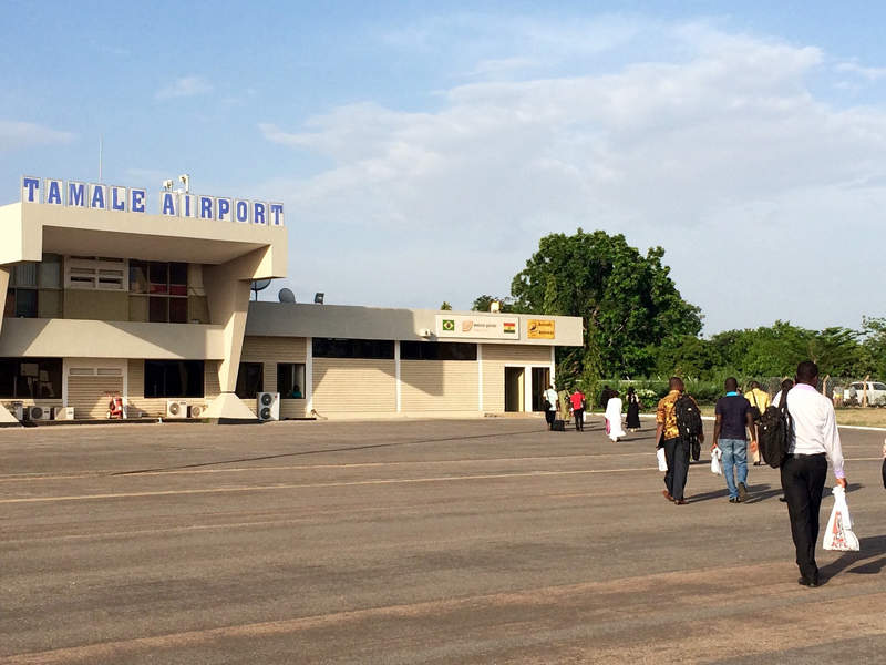 Tamale Airport is being upgraded to international status under a redevelopment programme announced in 2012. Image courtesy of Rachel Strohm.