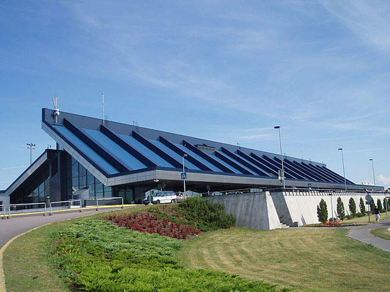 The passenger terminal building at Tallinn airport is being expanded in two phases. Image courtesy of Pjotr Mahhonin.