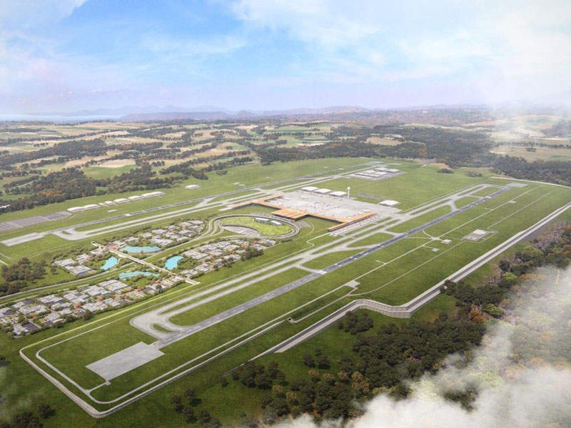 Orotina International Airport will be located in the city of Orotina, Costa Rica.
