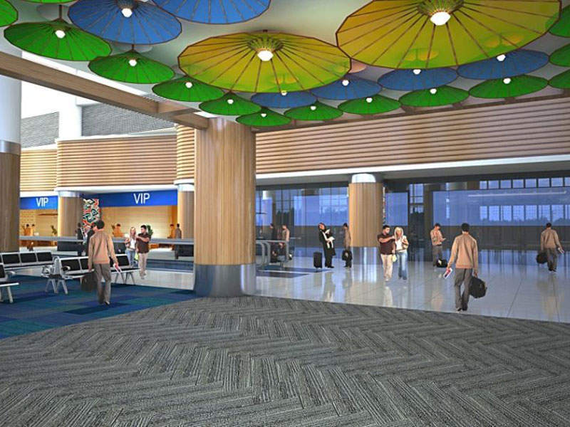 The first stage of development will feature a 96,000m² main passenger terminal. Credit: West Java Tourism Promotion Board.