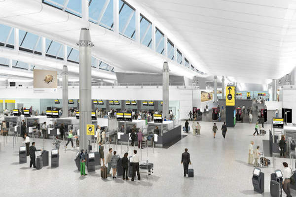The new terminal is expected to witness a daily average of 55,000 passengers. Credit: LHR Airports Limited.