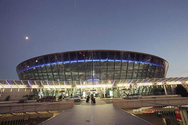 Nice Côte d'Azur international airport has two passenger terminals. Image courtesy of Aéroports de la Côte d'Azur.