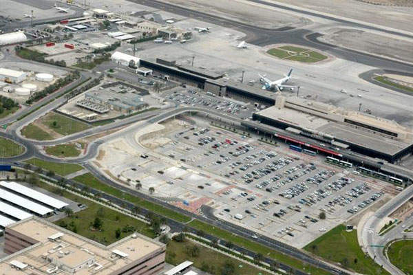 Bahrain Airport's new terminal will be four times the size of the existing facility. Credit: Bahrain Airport Company.