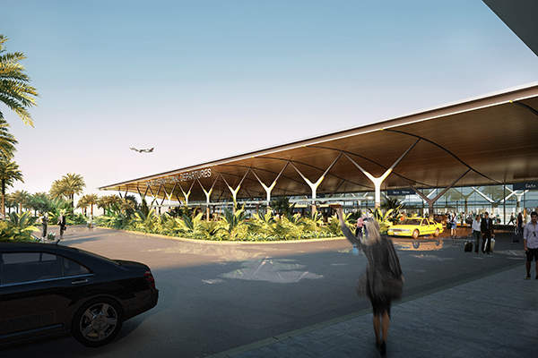 The project is entirely funded by AFL. Image: courtesy of Nadi Airport.