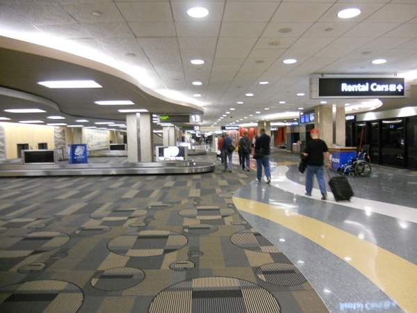 In August 2002, Skanska was awarded a $124m contract to design and build an in-line baggage screening system at Tampa International Airport.