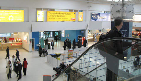 The open areas of Belfast City Airport give the terminal great operational flexibility.