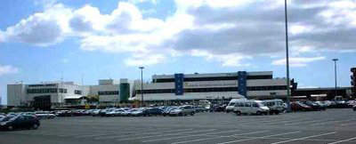 Cardiff's existing terminal building; this is set to be expanded in the new master plan.