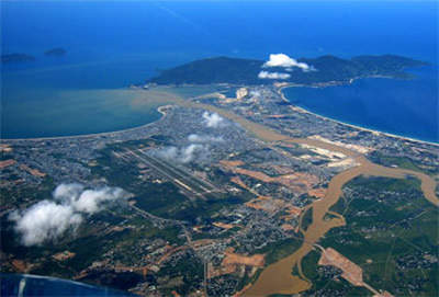 Danang International Airport is crucial to the development of the central region of Vietnam.