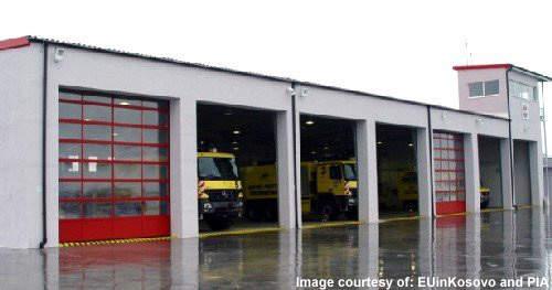 Priština International Airport's fire station now has new vehicles.