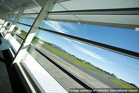 Hamilton has one sealed runway and three grass runways.