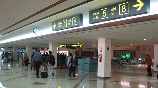 Juanda International Airport has two terminals - Terminal 1 and Terminal 2. Image courtesy of Netaholic13.