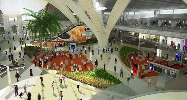 Abu Dhabi International Airport's midfield terminal will increase capacity to 20 million passengers per year.