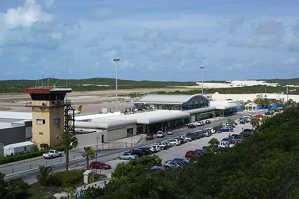The Phase II expansion has increased the airport's parking lot capacity. Image courtesy of Turks and Caicos Islands Airports Authority.