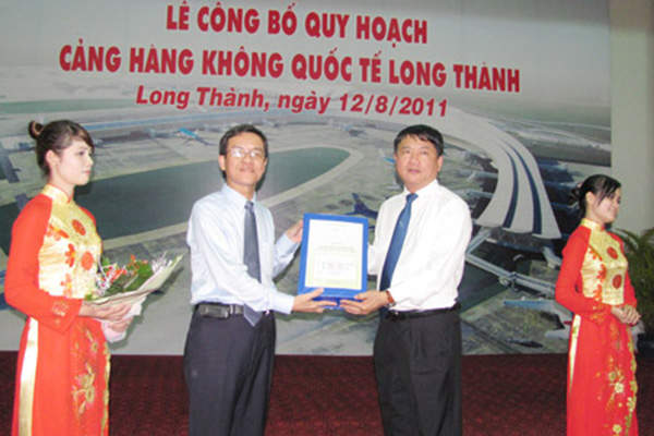 The Vietnamese Prime Minister granted his approval for the new airport in June 2011.