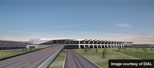 Indira Gandhi International's T3 will have a six-lane access road.