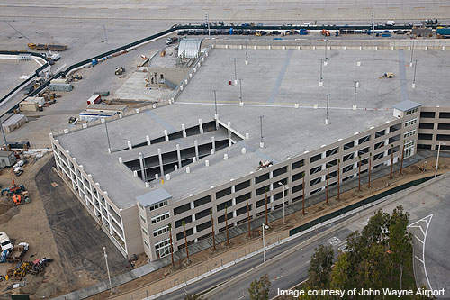 Parking Structure C was completed in December 2010 and offers 2,000 parking spaces.