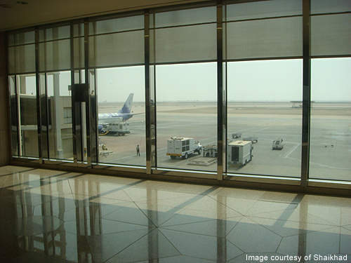 The airport occupies about 776km² and is the largest in the world in terms of area. Credit: Shaikhad.