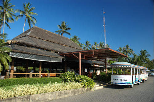 Koh Samui Airport prior to the recent renovation.