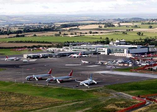 The airport is expanding to accommodate projected traffic of ten million passengers by 2016.