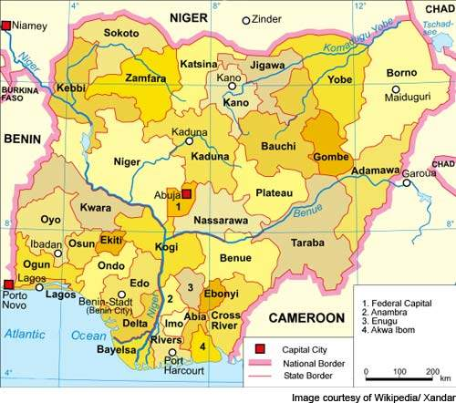 The airport is situated in the Federal Capital Territory, Nigeria.