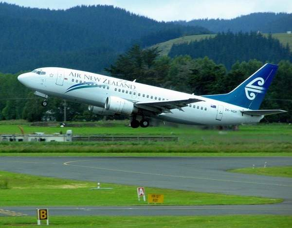 Dunedin airport in Otago, New Zealand, serves more than 700,000 passengers annually.