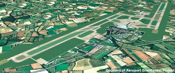 There will be two runways and also a cargo terminal at the new Notre-Dame-Des-Landes Airport.