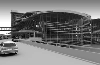Construction will begin in 2008 on the new 700,000ft² Terminal B.