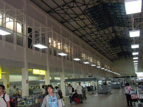Tan Son Nhat's old terminal building after refurbishment.
