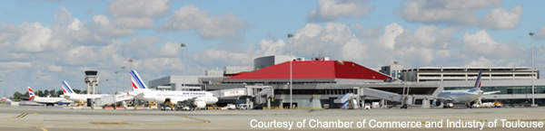 Toulouse-Blagnac Airport has four major projects underway.