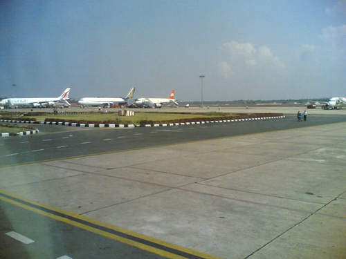 Trivandrum International Airport currently operates two terminals. Terminal 1 handles all domestic flight operations and Terminal 2 handles international flight operations.