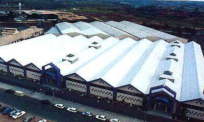 The location of Kingston, Jamaica.