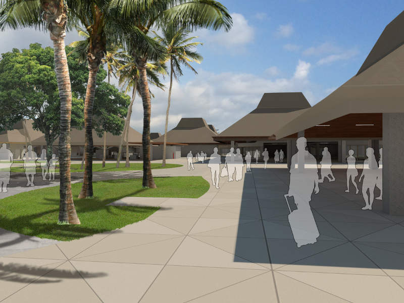 The terminal modernisation project will improve the passenger facilities and safety at Kona airport. Image courtesy of State of Hawaii.